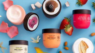 Веганские йогурты The Body Shop